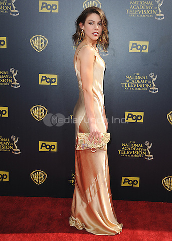 BURBANK, CA - APRIL 26:  Kate Mansi at the 42nd Annual Daytime Emmy Awards at Warner Brothers Studios on April 26, 2015 in Burbank, California. Credit: PGSK/MediaPunch