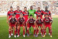 Chicago Fire starting eleven. The Chicago Fire defeated the Philadelphia Union 3-1 during a Major League Soccer (MLS) match at PPL Park in Chester, PA, on August 12, 2012.