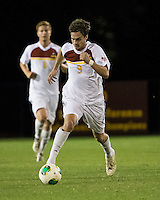 The Winthrop University Eagles lose 2-1 in a Big South contest against the Campbell University Camels.  Mason Lavallet (9)