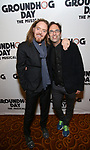 Tim Minchin and Danny Rubin attends the Broadway Opening Night After Party for 'Groundhog Day' at Gotham Hall on April 17, 2017 in New York City.