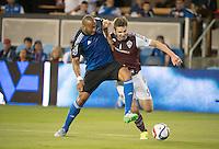 San Jose, Ca. - Friday, August 14, 2015: The San Jose Earthquakes defeated the Colorado Rapids 1-0 at Avaya Stadium.