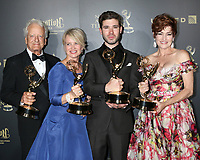 LOS ANGELES - APR 29:  Nicolas Coster, Mary Beth Evans, Kristos Andrews, Carlyn Hennesy at the 2017 Creative Daytime Emmy Awards at the Pasadena Civic Auditorium on April 29, 2017 in Pasadena, CA
