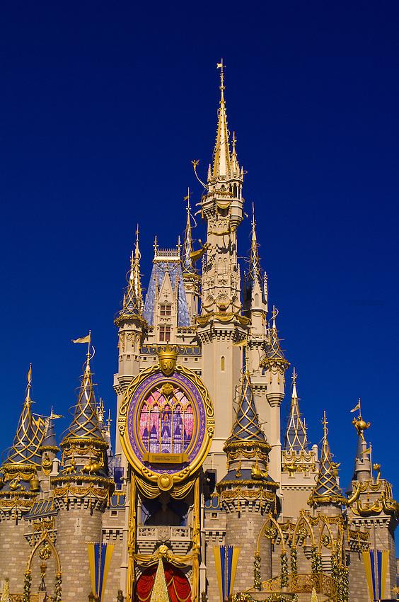 Cinderella's Castle, Disney World, Orlando, Florida USA