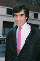 Magician David Copperfield<br /> NYC 1985 By Jonathan Green