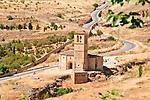 Vera Cruz church, built in 1208, in Segovia, Spain