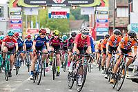 Picture by Alex Whitehead/SWpix.com - 12/05/2017 - Cycling - Tour Series Round 3, Northwich - Matrix Fitness Grand Prix - Team Breeze's Ellie Dickinson