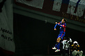 Aria Jasuru Hasegawa (FC Tokyo),.MARCH 17, 2012 - Football / Soccer :.Aria Jasuru Hasegawa of F.C.Tokyo celebrates after scoring his team's second goal during the 2012 J.League Division 1 match between F.C.Tokyo 3-2 Nagoya Grampus Eight at Ajinomoto Stadium in Tokyo, Japan. (Photo by AFLO)