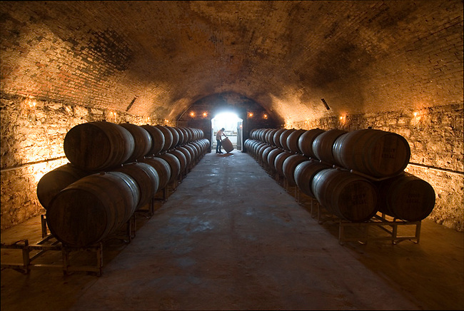 Cave at Mt. Pleasant winery near St. Louis, Missouri built in 1881