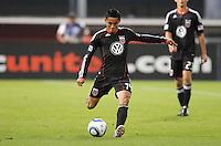 DC United midfielder Andy Najar (14)   DC United tied The Colorado Rapids 1-1, at RFK Stadium, Saturday  May 14, 2011.