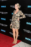 LOS ANGELES, CA - SEPTEMBER 28: Brittany Snow at the premiere of IMAX's 'Voyage Of Time: The IMAX Experience' at California Science Center on September 28, 2016 in Los Angeles, California. Credit: David Edwards/MediaPunch