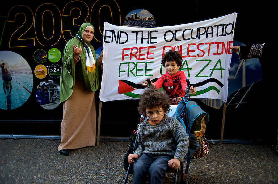 Rally against Israel's brutality in Palestine, 13.07.14