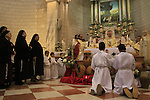 Feast of the Miracle of the Wine at the Franciscan Wedding Church in Kafr Cana