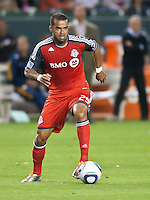 CARSON, CA – June 11, 2011: Toronto FC forward Maicon Santos (29) during the match between LA Galaxy and Toronto FC at the Home Depot Center in Carson, California. Final score LA Galaxy 2, Toronto FC 2.