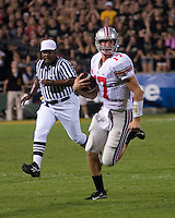06 October 2007: Ohio State quarterback Todd Boeckman (17)..The Ohio State Buckeyes defeated the Purdue Boilermakers 23-7 on October 06, 2007 at Ross-Ade Stadium, West Lafayette, Indiana.
