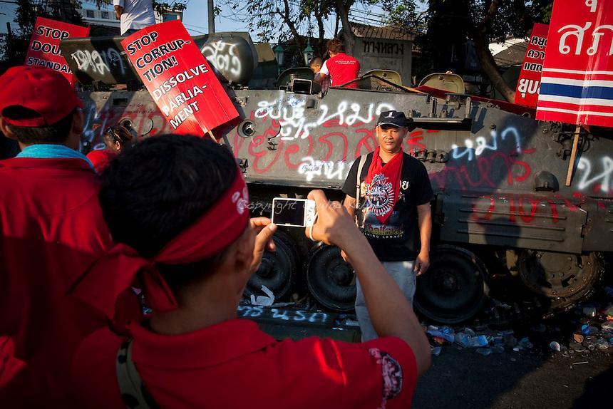 Red Shirts UDD protests in Bangkok 110410