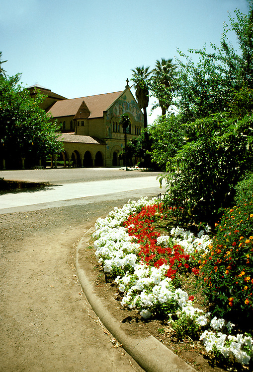 California: Stanford: Stanford University campus, Memorial Church,  Photo: castan103.Photo copyright Lee Foster, 510/549-2202, lee@fostertravel.com, www.fostertravel.com
