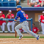 3 March 2016: New York Mets catcher Johnny Monell in action during a Spring Training pre-season game against the Washington Nationals at Space Coast Stadium in Viera, Florida. The Mets fell to the Nationals 9-4 in Grapefruit League play. Mandatory Credit: Ed Wolfstein Photo *** RAW (NEF) Image File Available ***