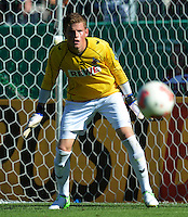 FUSSBALL  DFB POKAL        SAISON 2012/2013 SpVgg Unterchaching - 1. FC Koeln  18.08.2012 Torwart Timo Horn (1. FC Koeln)