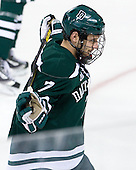 Rick Pinkston (Dartmouth - 7) - The Boston College Eagles defeated the visiting Dartmouth College Big Green 6-3 (EN) on Saturday, November 24, 2012, at Kelley Rink in Conte Forum in Chestnut Hill, Massachusetts.