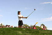 March 26, 2005; Rancho Mirage, CA, USA;  15 year old amateur Michelle Wie tees off at the 11th hole during the 3rd round of the LPGA Kraft Nabisco golf tournament held at Mission Hills Country Club.  Wie shot a 1 over par 73 for the day and was tied for 21st at one over par 217.<br />