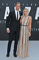 Alexander Skarsgard &amp; Margot Robbie at the &quot;The Legend of Tarzan&quot; European film premiere, Odeon Leicester Square, Leicester Square, London, England, UK, on Tuesday 05 July 2016.<br /> CAP/CAN<br /> &copy;Can Nguyen/Capital Pictures /MediaPunch ***NORTH AND SOUTH AMERICAS ONLY***