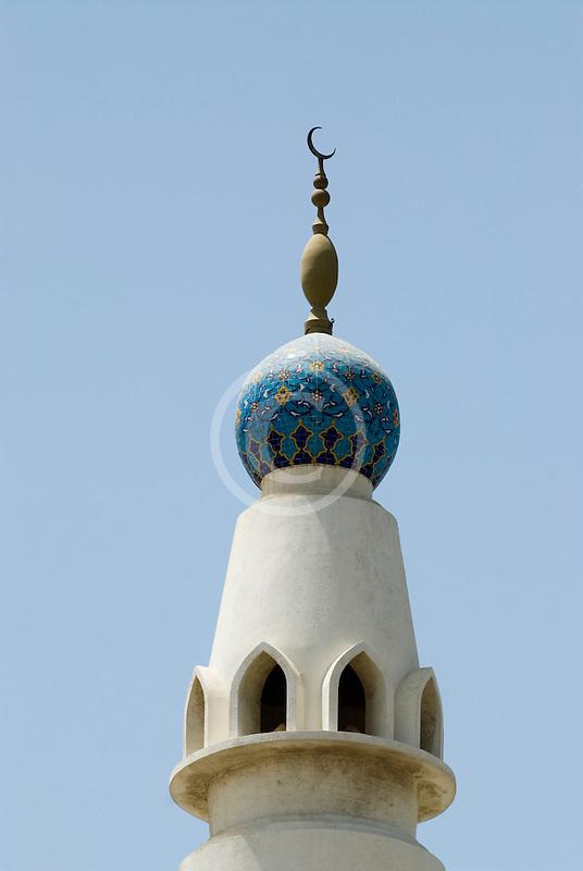 United Arab Emirates, Dubai, Minaret, Iranian Mosque
