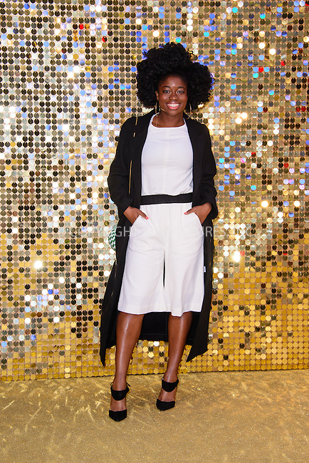 www.acepixs.com<br /> <br /> June 29 2016, London<br /> <br /> Clara Amfo arriving at the World Premiere of 'Absolutely Fabulous: The Movie' at the Odeon Leicester Square on June 29, 2016 in London, England<br /> <br /> By Line: Famous/ACE Pictures<br /> <br /> <br /> ACE Pictures Inc<br /> Tel: 6467670430<br /> Email: info@acepixs.com<br /> www.acepixs.com