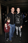 Christopher Meloni & son & Johnny Weir at the Figure Skating in Harlem  - the 2011 Skating with the Stars on April 4, 2011 at Wollman Rink, Central Park, New York City, New York. (Photo by Sue Coflin/Max Photos)