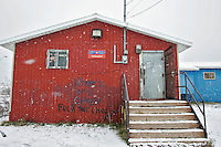 The Canada Post office in Attawapiskat. <br /> <br /> (Ian Stewart photo)