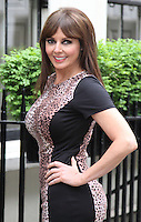 MAY 22 Carol Vorderman photocall