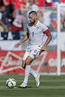 Carson, CA - Sunday, February 8, 2015: Clint Dempsey (8) of the USMNT. The USMNT defeated Panama 2-0 during an international friendly at the StubHub Center