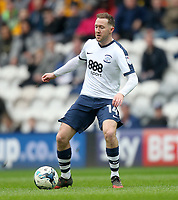 Preston North End's Aidan McGeady<br /> <br /> Photographer Mick Walker/CameraSport<br /> <br /> The EFL Sky Bet Championship - Preston North End v Reading - Saturday 11th March 2017 - Deepdale - Preston<br /> <br /> World Copyright &copy; 2017 CameraSport. All rights reserved. 43 Linden Ave. Countesthorpe. Leicester. England. LE8 5PG - Tel: +44 (0) 116 277 4147 - admin@camerasport.com - www.camerasport.com