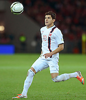 Fussball International  WM Qualifikation 2014   12.10.2012 Schweiz - Norwegen Tarik Elyounoussi (Norwegen)