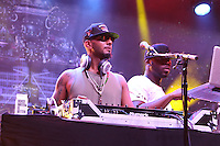 BRONX, NEW YORK - AUGUST 13, 2016 Swizz Beatz performs at the Bacardi x Dean Collection No Commission Art event, August 13, 2016  in The Bronx, New York. Photo Credit: Walik Goshorn / Mediapunch