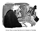 Spencer Tracy as Judge Dan Haywood in Judgment at Nuremberg