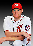 25 February 2011: Washington Nationals' pitcher Todd Coffey poses for his Photo Day portrait at Space Coast Stadium in Viera, Florida. Mandatory Credit: Ed Wolfstein Photo