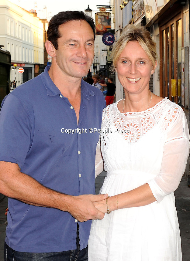 Jason Isaacs and Emma Hewitt attend the UK Premiere of 'Trap For Cinderella' at The Electric Cinema, Notting Hill, London - July 7th 2013 <br /> <br /> Photo Supplied by People Press