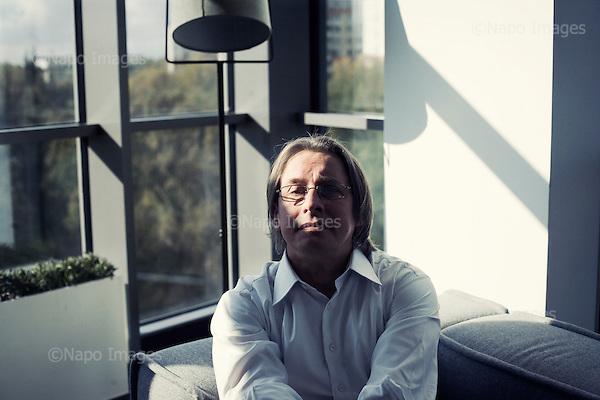 !!!!!UWAGA RESTRYKCJE!!!!! <br /> <br /> Warsaw 11.10.2012 Poland<br /> Wojciech Sobieraj, chairman of Polish Alior Bank.<br /> Photo: Adam Lach / Napo Images for Forbes..Wojciech Sobieraj, prezes polskiego oddzialu Alior Bank.Fot: Adam Lach / Napo Images for Forbes<br /> <br /> !!!!!UWAGA RESTRYKCJE!!!!! ***EXCLUSIVE***,***Zdjecie moze byc uzyte w prasie gdy sposob jego wykorzystania oraz podpis nie obrazaja osob znajdujacych sie na fotografii***, ***zakaz publikacji w tabloidach Fakt i Super Express***