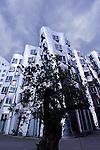 Frank Gehry building in Dusseldorf, Germany.