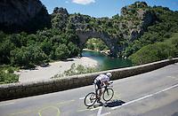 Laurens ten Dam (NLD/Giant-Alpecin)<br /> <br /> stage 13 (ITT): Bourg-Saint-Andeol - Le Caverne de Pont (37.5km)<br /> 103rd Tour de France 2016