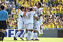Sagan Tosu team group, .APRIL 28, 2012 - Football /Soccer : .2012 J.LEAGUE Division 1 .between Kashiwa Reysol 1-1 Sagan Tosu .at Kashiwa Hitachi Stadium, Chiba, Japan. .(Photo by YUTAKA/AFLO SPORT) [1040]
