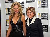Summer Zervos, who accused United States President Donald Trump of groping her in 2007, and who is suing the President for defamation after he claims they never met at his hotel, and attorney Gloria Allred arrive for the Creative Coalition Inaugural Ball for the Arts at the Harman Center for the Arts in Washington, DC on Friday, January 20, 2017.<br /> Credit: Ron Sachs / CNP<br /> (RESTRICTION: NO New York or New Jersey Newspapers or newspapers within a 75 mile radius of New York City)