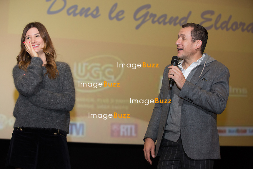 Semi-exclusif :<br /> Dany Boon et Alice Pol assistent &agrave; l'avant-premi&egrave;re du film &quot; Raid Dingue &quot;, &agrave; L'UGC De Brouck&egrave;re, &agrave; Bruxelles.<br /> Belgique, Bruxelles, 11 janvier 2017<br /> Semi-exclusive :<br /> French actor Dany Boon and actress Alice Pol attend the movie premiere of ' Raid Dingue ' at the UGC De Brouck&egrave;re cinemas in Brussels.<br /> Belgium, Brussels, 11 January 2017