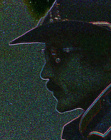 Richard Petty, abstract, digitally manipulated in photoshop, Atlanta Journal 500 at Atlanta International Raceway on November 11, 1984. (Photo by Brian Cleary/www.bcpix.com)
