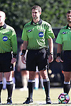 23 October 2016: Fourth Official Kevin Uitto. The Wake Forest University Demon Deacons hosted the University of Notre Dame Fighting Irish at Spry Stadium in Winston-Salem, North Carolina in a 2016 NCAA Division I Women's Soccer match. Notre Dame won the game 1-0.