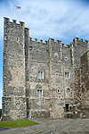 Dover Castle, Dover, Kent, UK. Pictured here, the late 12th century keep, built during the reign of King Henry II, stands over 25m high with walls over 6m thick. © Rudolf Abraham