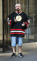 NEW YORK, NY-August 25:  Kevin Smith at SiriusXM to talk about new movie Yoga Hosers in New York. August 25, 2016. Credit:RW/MediaPunch