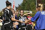 26 October 2008: Duke's Lorraine Quinn. The Duke University Blue Devils defeated the Clemson University Tigers 6-0 at Koskinen Stadium in Durham, North Carolina in an NCAA Division I Women's college soccer game.