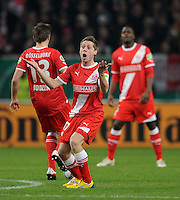 FUSSBALL   DFB POKAL   SAISON 2011/2012  ACHTELFINALE  Fortuna Duesseldorf - Borussia Dortmund              20.12.2011 Andreas Lambertz (Duesseldorf)