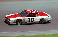 Greg Sacks 10 action Pepsi Firecracker 400 at Daytona International Speedway in Daytona Beach, FL on July 4, 1985. (Photo by Brian Cleary/www.bcpix.com)